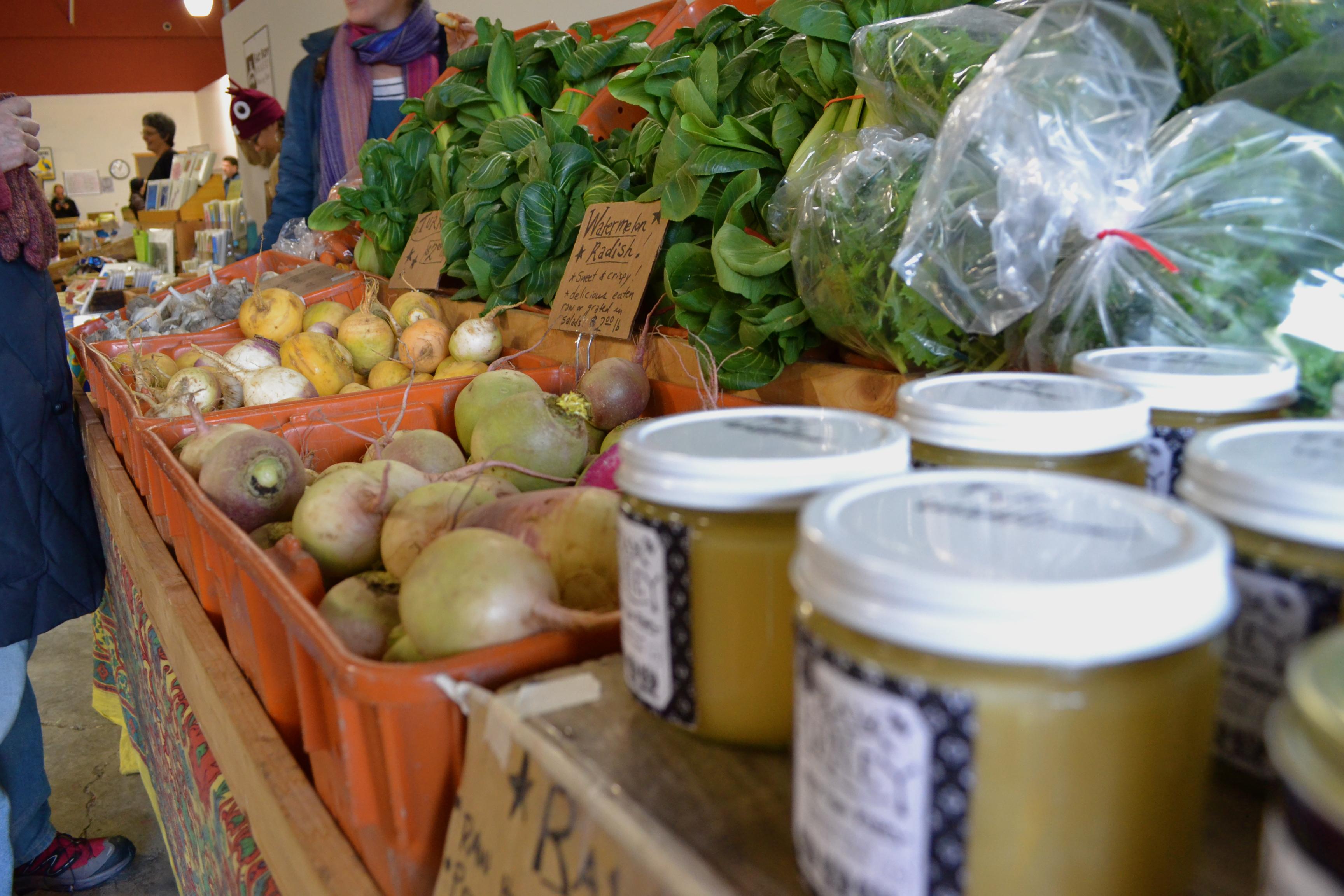Sesame Soba Noodles with Winter Vegetables – Tending the Garden