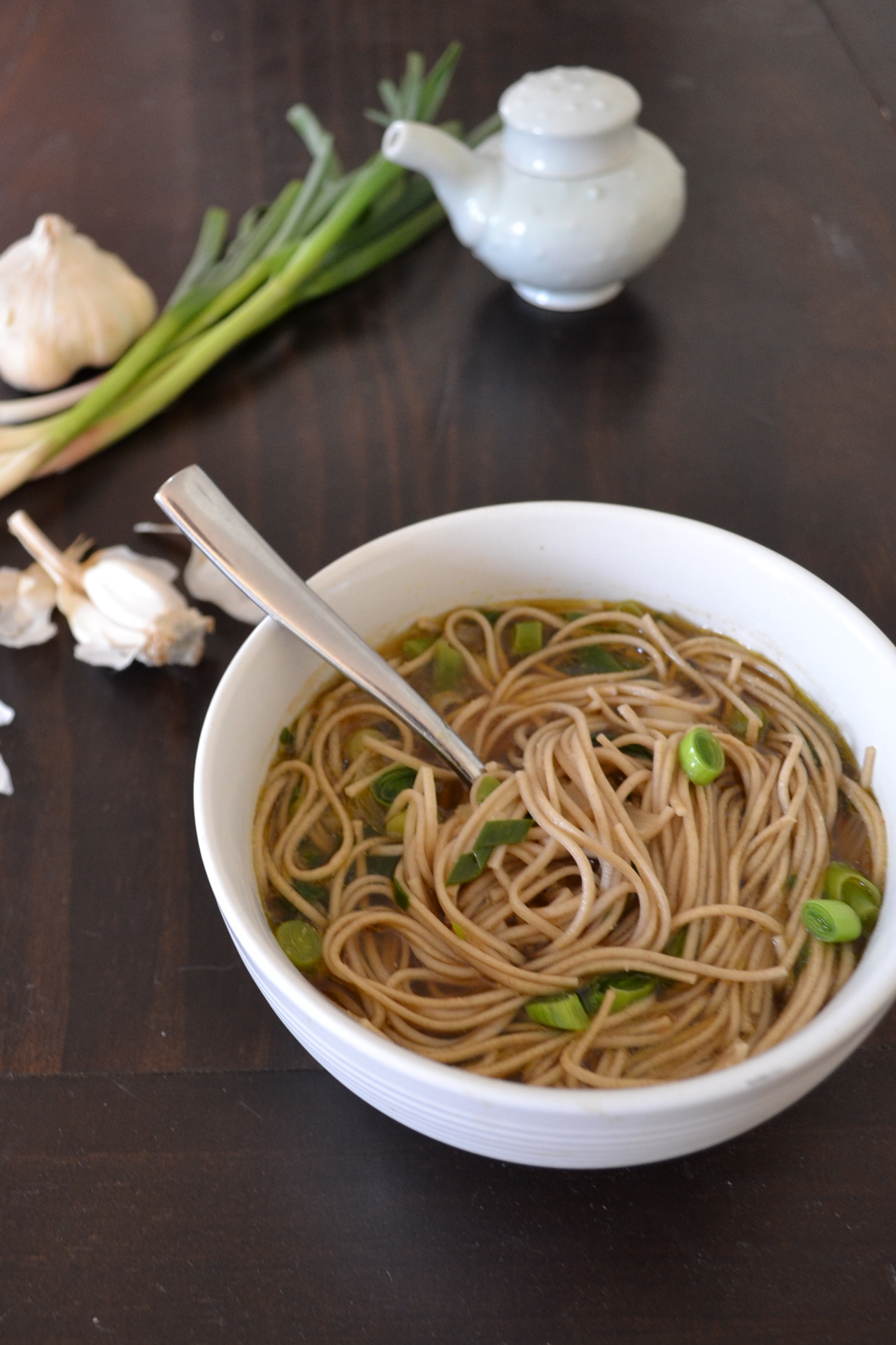 The Pantry: Pasta (and sesame soba soup) | Tending the Garden